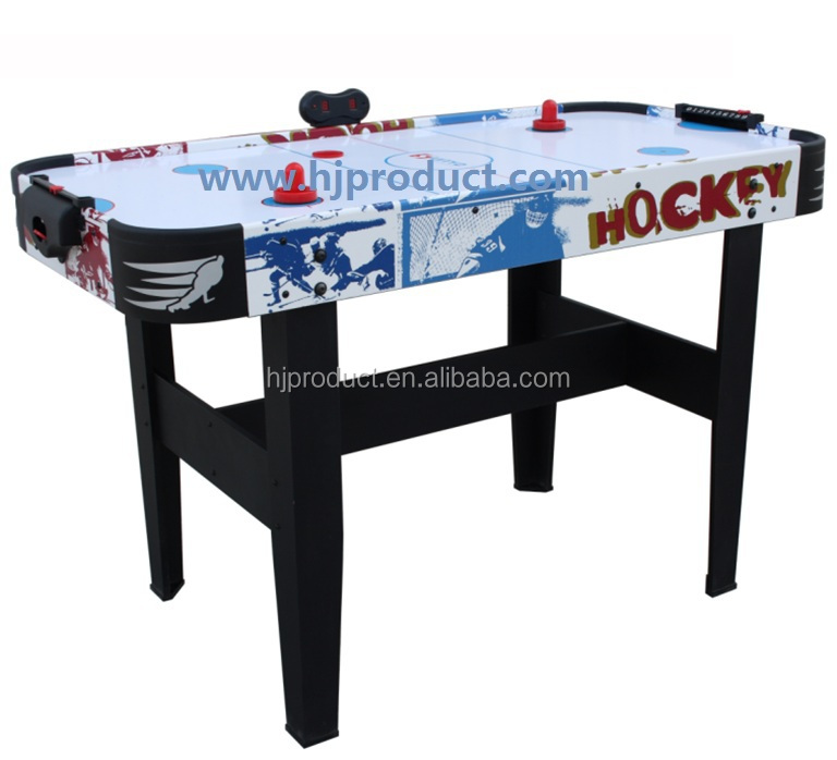 Portable Mini Air Hockey Table Game,small Hockey Table With Pusher And Puck  .