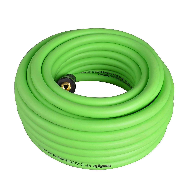 PAKA TOOLS  300 PSI Hybrid PVC//Rubber Air Hose 3//8-Inch by 50-Feet