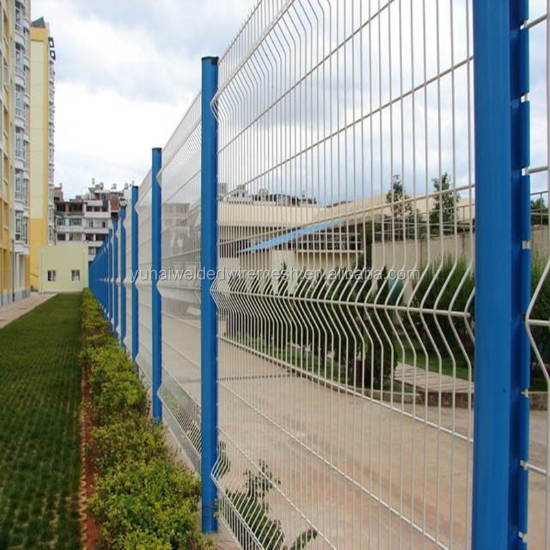parking lot fence/iron mesh fence gate/portable fence