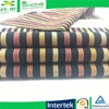 Fabric mill Y/D 100 cotton colorful dobby stripe fabric
