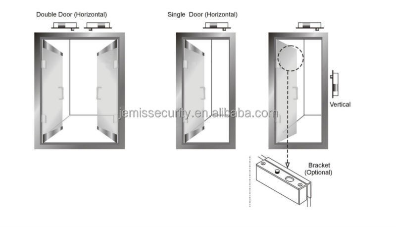 Electric Dead Bolt Lock For Access Control System Electric