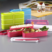 3 layer Collapsible Plastic Food Storage Containers with strap