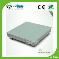Dmx programable led floor tile light for outdoor landscape