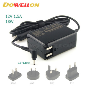Compatible Notebook PC AC adapter charger 18W 12V 1.5A for ACER Iconia Tab A100 A200 A210 A500 A501