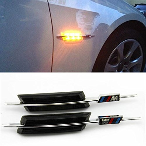 Buy Feifeier Led Black Smoke Side Marker Lights Turn Signals For Bmw