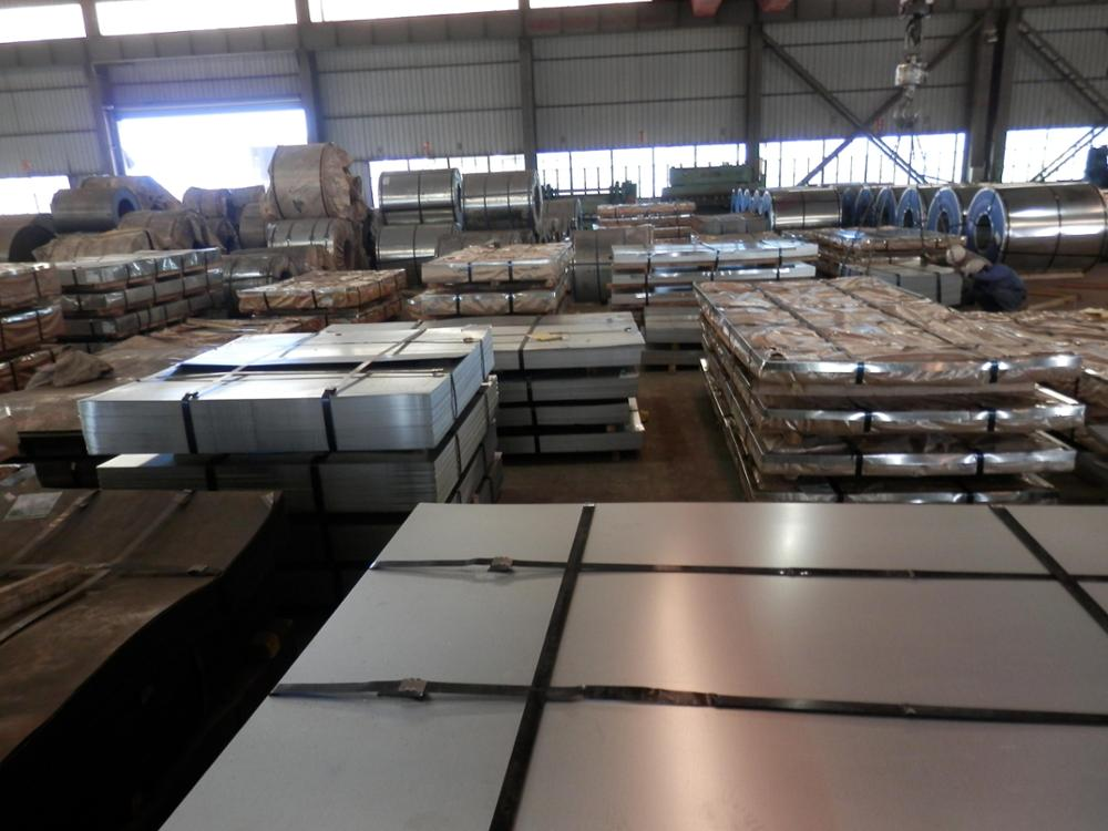 high strength 22 gauge galvanized sheet metal 4x8 and standard sizes of galvanized iron sheet coil
