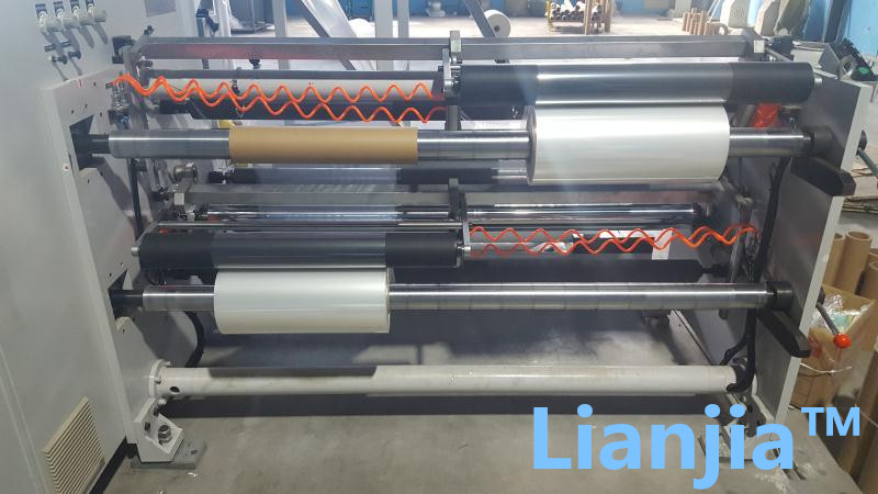 China LIANJIAPACK factory supplier standard type POF polyolefin shrink film for minipack shrink wrap machine