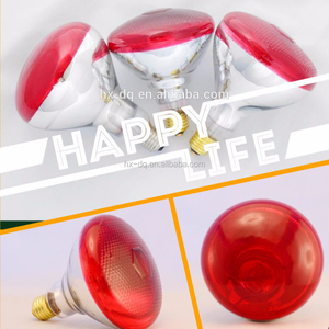 PTFE teflon explosion-proof bulb roasted red infrared heat lamp PAR38 Colorful Infrared poultry lamp
