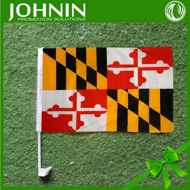 Hot Sell Factory Direct Maryland Car Flag