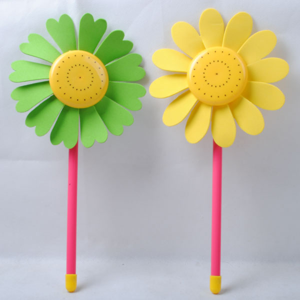 Sunflowers wholesale price flower pinwheel for kids