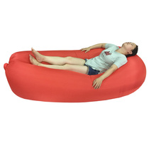 Wholesale custom printed fast inflatable sleeping bag, inflatable air bed, fast inflatable sofa air bed