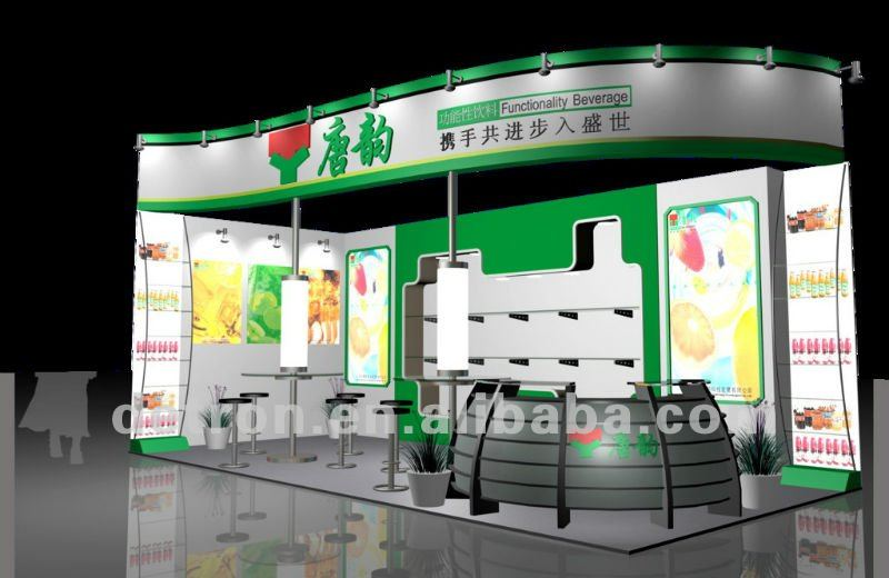 2012 Display Booth for Drink S463 ~ NEW