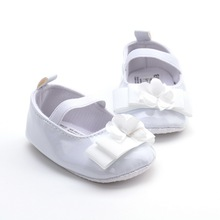 BB1701 2017 New Style Satin Girl Baby Shoes In Bulk wholesale kids shoes manufacturers china