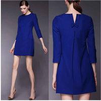 M61629A women fall high quality plus size formal dresses