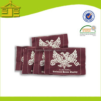 New Fashion Cheap Garment Custom China Labels Woven