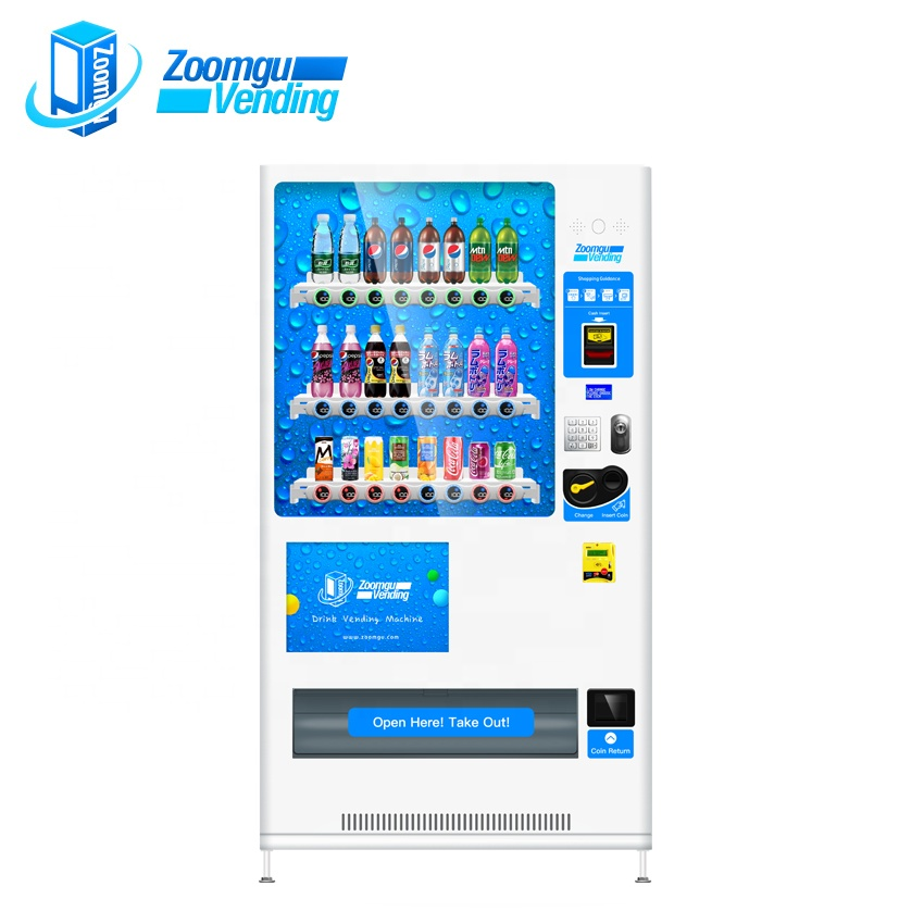 ZG Hot Sale Drinking Vending Machine ZG-D720-MCS