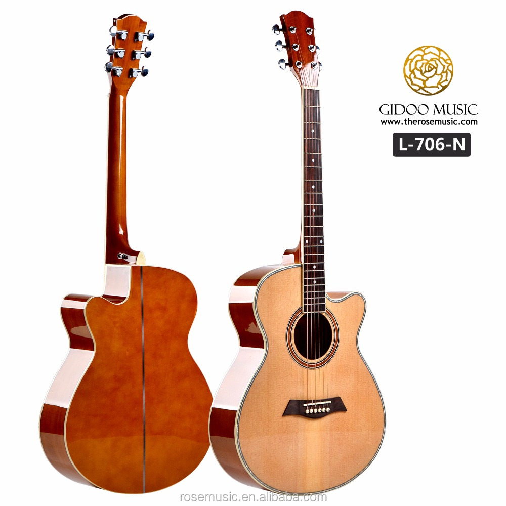 40 inch colour electric global acoustic guitar L706