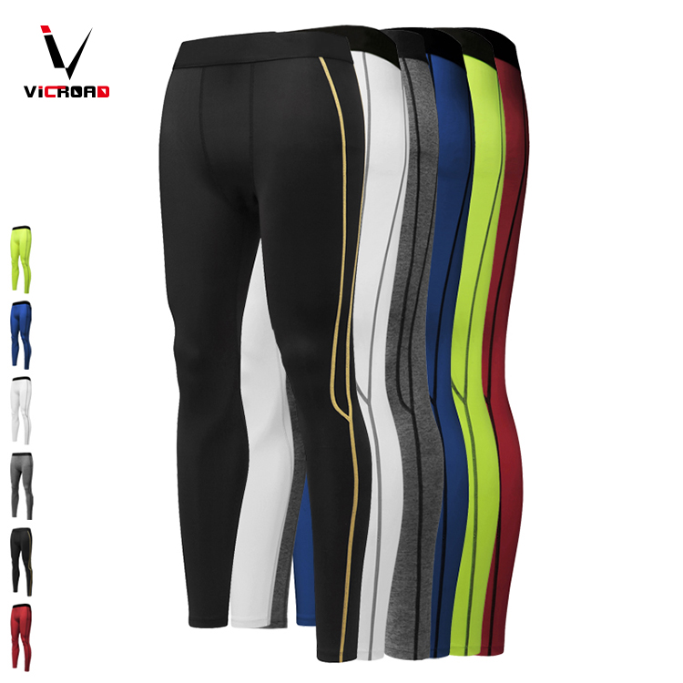 Stretchy Quick dry men's sport compression gym sport fitness jogging training wear