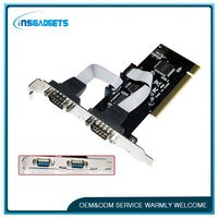 Network card functions ,h0tju pci 1 parallel port and 2 serial port card for sale