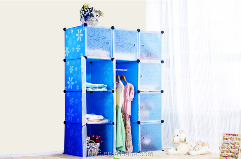Featured Plastic Storage Cubes Stackable Magic Cube Clothes Cabinets Living  Room Furniture (FH AL0041
