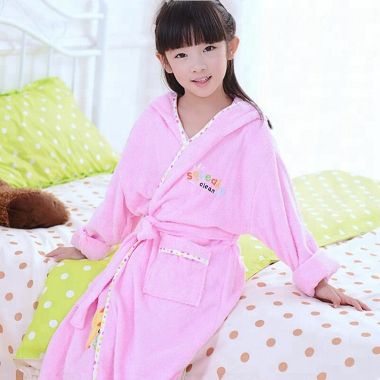 f7acc7ec42 Cheap Girls Pink Bathrobes