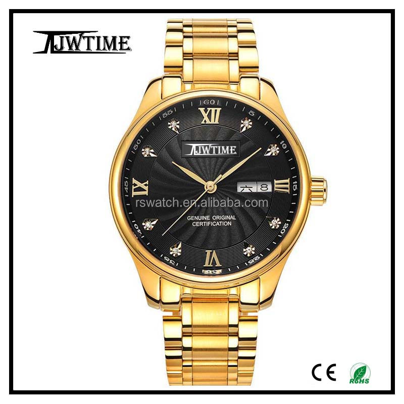 2017 alibaba china watches men gold luxury color changing dial watch custom made watches