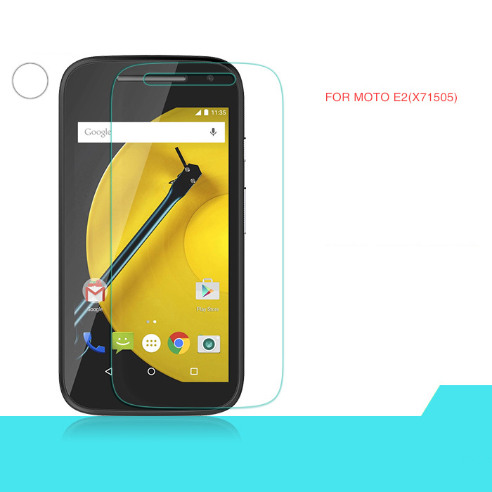 Explosion Proof Premium Real Tempered Glass Guard Film Screen Protector For Motorola Moto E2 Free Shipping DHL 100pcs/lot