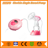 Japanese baby care product mom breastfeeding accessories electric breast pump with milk bottles