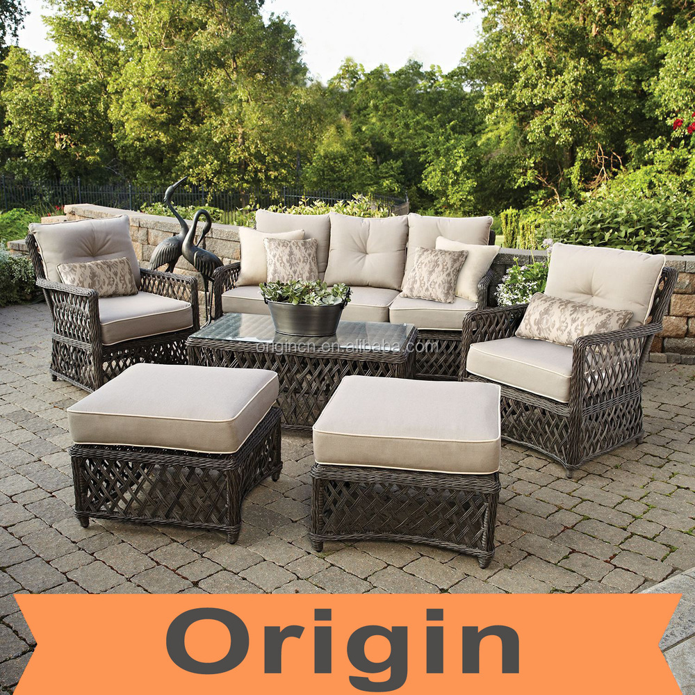 2016 Designer Stylist 6pc Casual Seating Set And Hand Woven Rattan ...