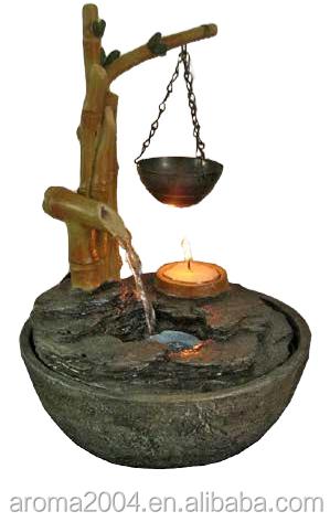 Polyresin Statue éléphant Mini Fontaine Du0027intérieur