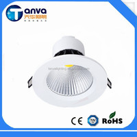 Chongqing supplier led downlight cover 4inch 5w/10w/20w ceiling led lights
