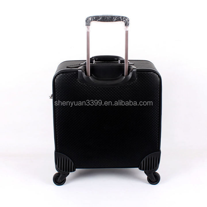 European Style Men's Leather Business Travel Trolley Bag,Online ...