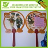 New Shaped Plastic PP Hand Fan