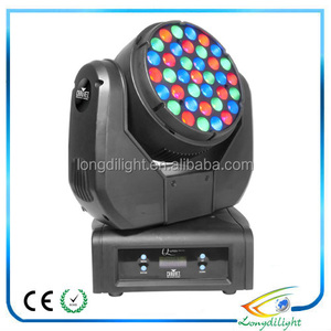 Pro stage light 37*3W RGB CREE led beam moving head light 37*3W led beam