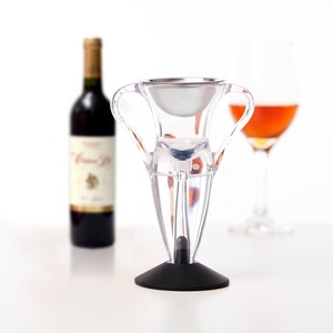 LFK Perfect Gift Set! Patent Product, Angel Wine Aerator With Base 004A