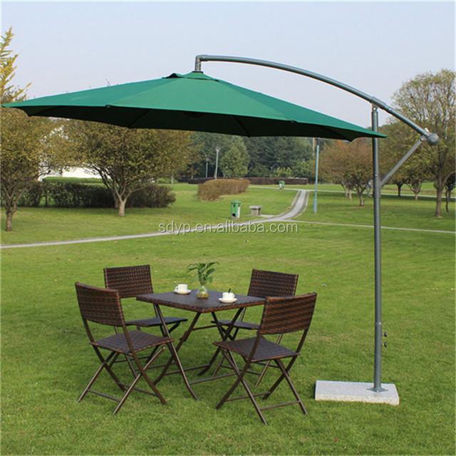 Durable Waterproof Garden Patio Umbrella /large Size Outdoor Standing  Parasol/ Roman Unbrella From China