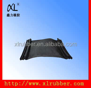 rubber retractable canopies for building curtain wall door
