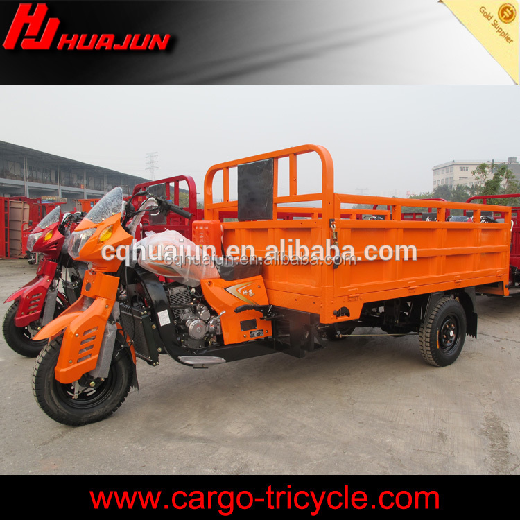 Construction wastes delivery agricultural cargo tricycle/3 wheel truck