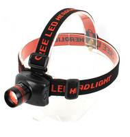 3W Zoom LED Flash Headlamp for Hiking,Fishing,Camping,Repair,Night reading,3 Brightness Level Choice Head torch Headlights