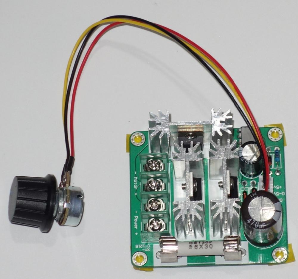 Geree 6v 90v 15a Pwm Dc Motor Speed Control Hho Rc Controller 12v Pulse Width Modulation 24v 48v