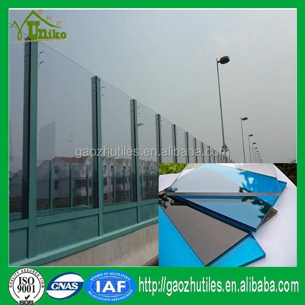 Panel de techo transparente policarbonato hoja s lida - Techo transparente policarbonato ...