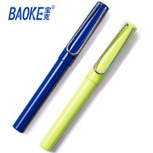 0.5mm uni plastic stick ball pen promotional ballpoint pen blue