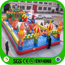 Outdoor Inflatable Play Equipment Giant Inflatable Fun City