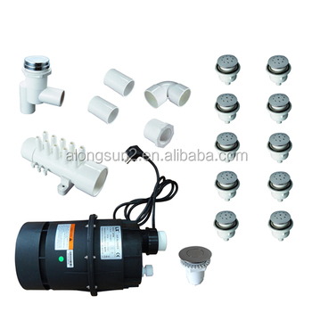 60 02 Spa Air Jet Kit Spa Air System Stainless Steel Air