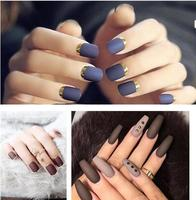 High quality long lasting air dry no smell water based oem matte nail polish