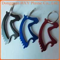 TOP QUALITY New Horse Head Bottle Opener Keychain