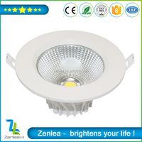 High Efficiency daylight recessed lighting 2 Years Warranty COB led 15w down light