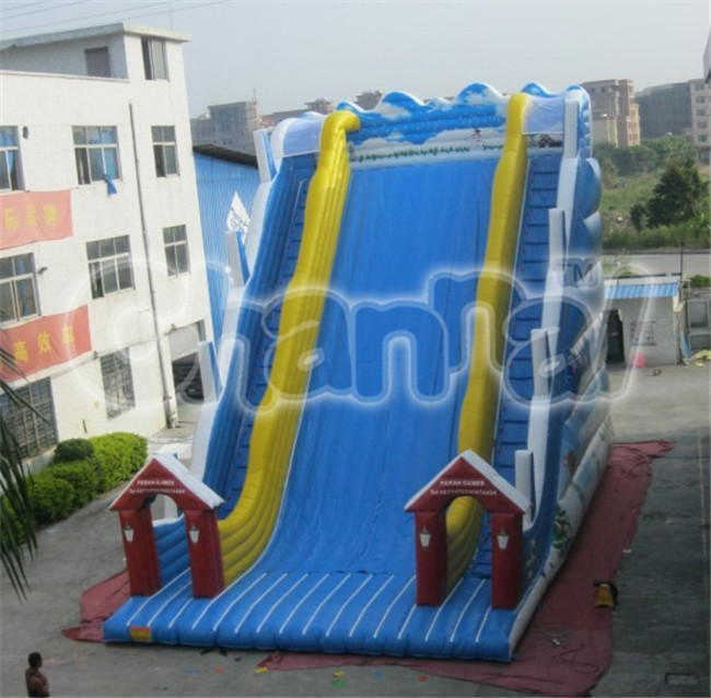 Giant inflatable adult slide, cheap inflatable super slide, inflatale dry slide