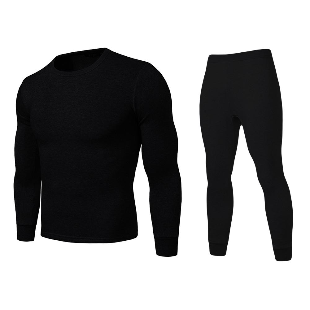 291bfdb71dd New Winter Warm Long Johns Plus Size Men Solid Color Thermal ...