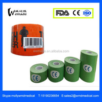 Wuxi Multicolor Custom Print Muscle Recover Sports kinesiology tape ce fda iso approved